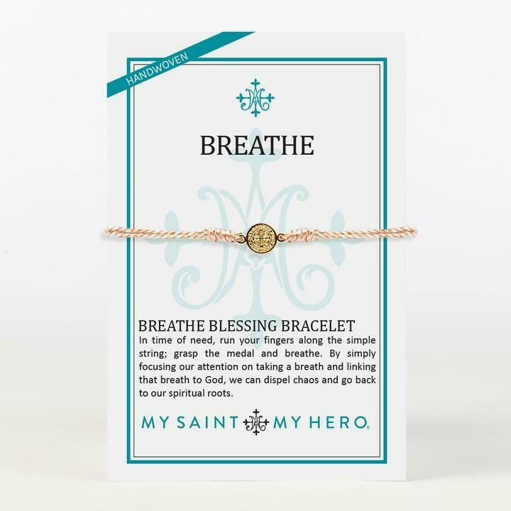 MSMH Breathe Blessing Bracelet (Gold/Metallic Copper)