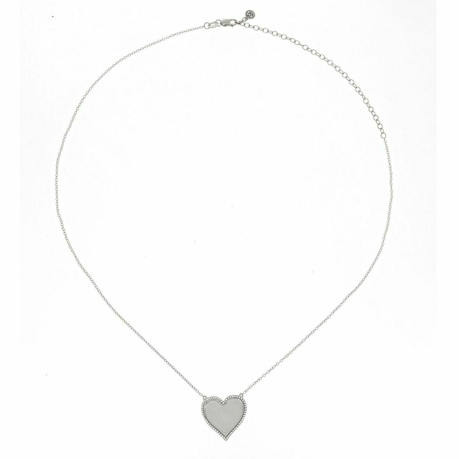Ella Stein Forever Love Necklace (Silver)