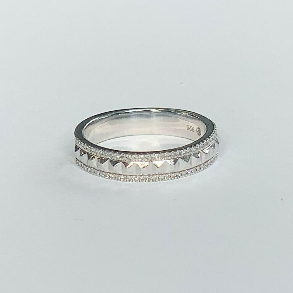 Ella Stein Pyramid Ring (Silver)