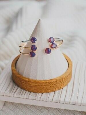 Balance Bracelet - Cyclamen Opal