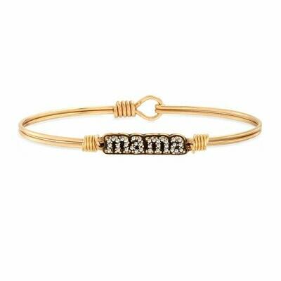 Luca + Danni Crystal Pave Mama Bracelet