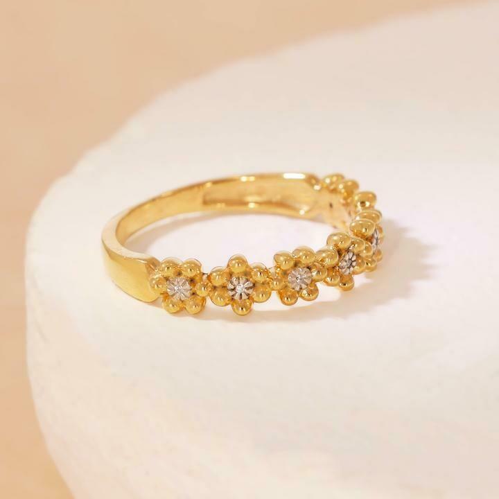 Ella Stein Field of Daisies Ring (Gold)
