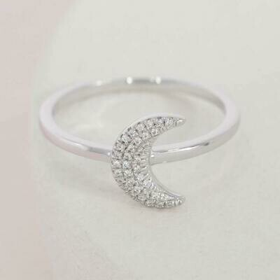 Ella Stein Mooning Over You Ring (Silver)