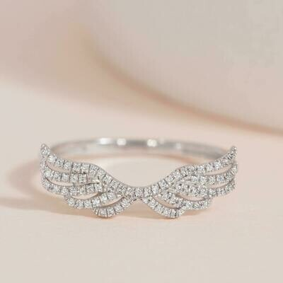 Ella Stein Fly Away With Me Ring (Silver)