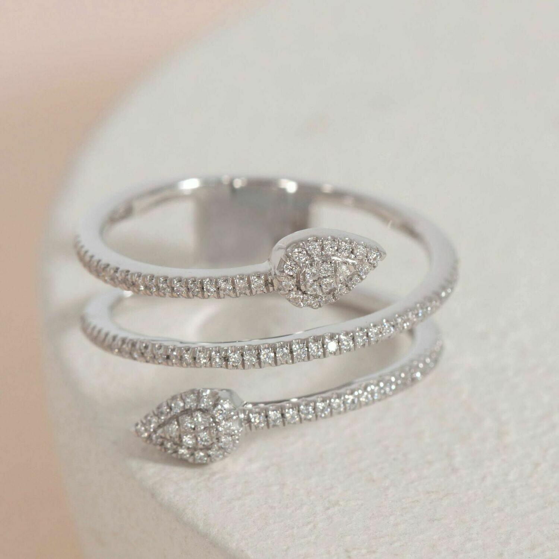Ella Stein Move Forward Ring (Silver)