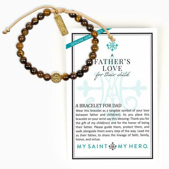 MSMH A Father's Love Blessing for My Child Bracelet