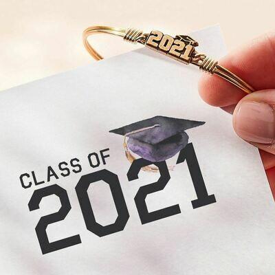 Luca + Danni 2021 Graduation Bracelet