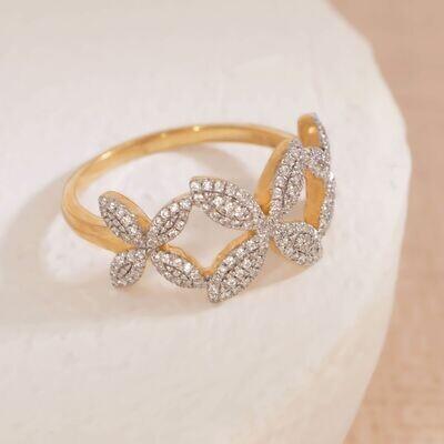 Ella Stein Flower Power Ring (Silver)