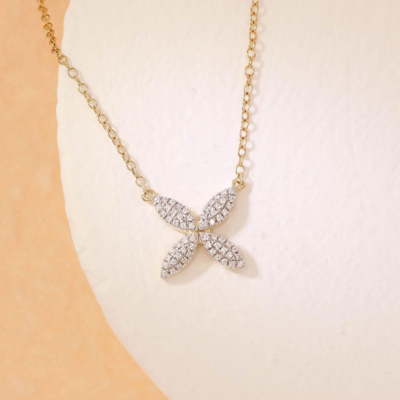 Ella Stein Flower Power Necklace (Gold)