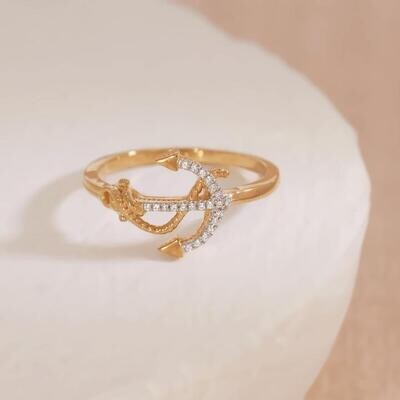 Ella Stein Anchor the Day Ring (Silver)