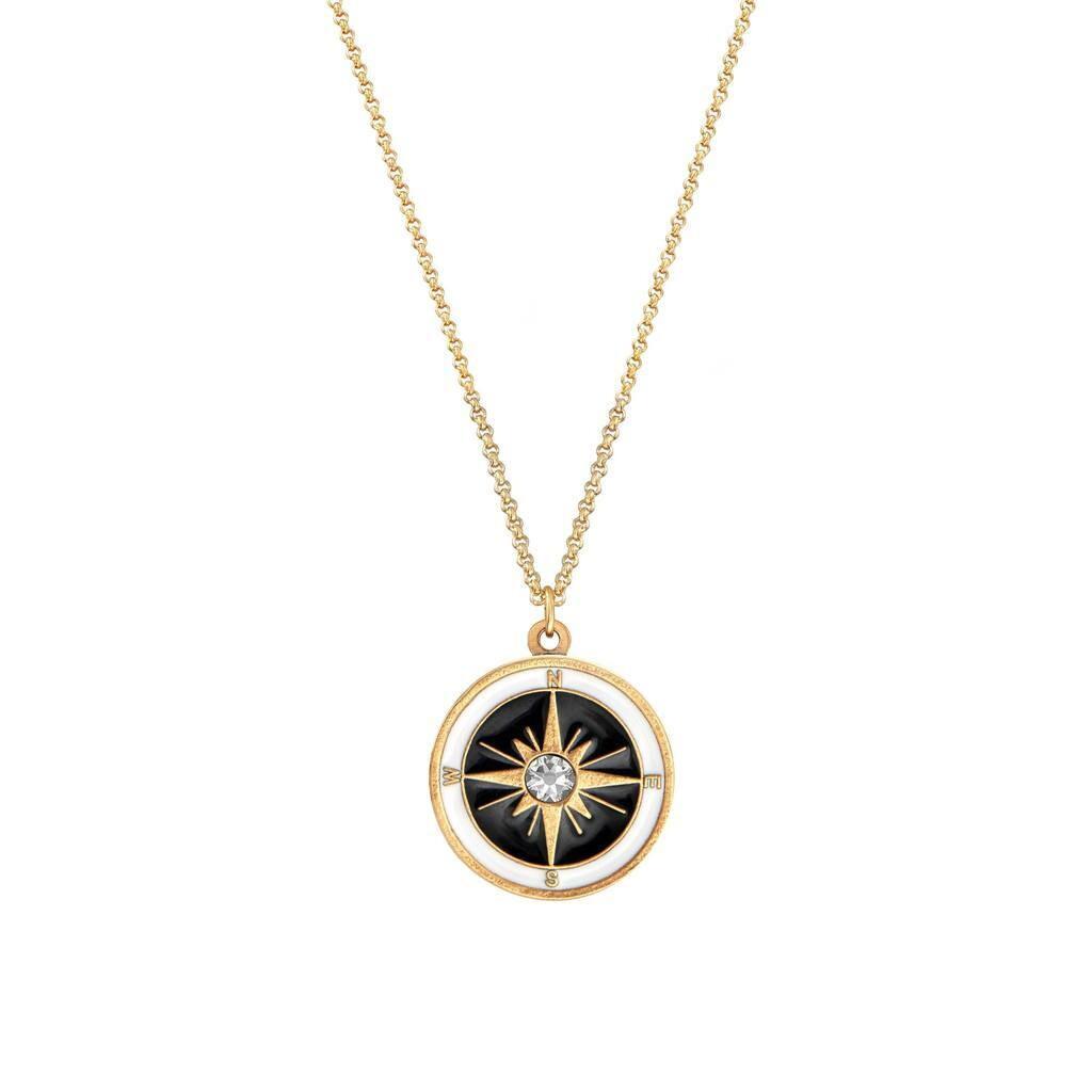 Luca + Danni Compass Necklace