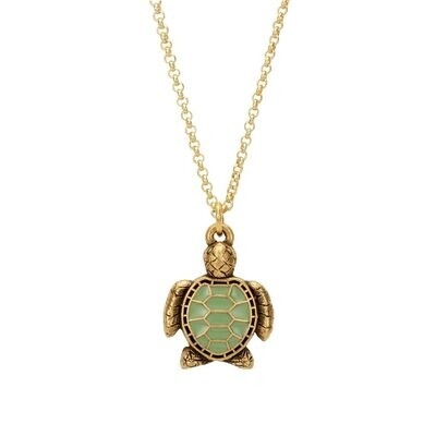 Luca + Danni Sea Turtle Necklace