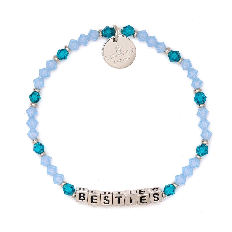 Little Words Project Silver BESTIES Bracelet