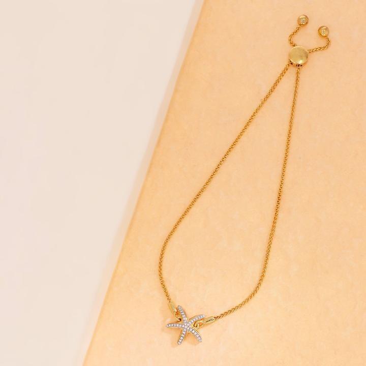 Ella Stein Sea Star Bracelet (Silver)