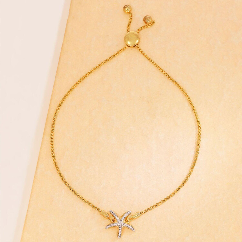 Ella Stein Sea Star Bracelet (Gold)