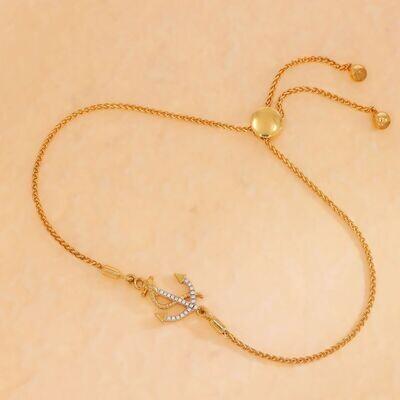 Ella Stein Anchor the Day Bracelet (Gold)
