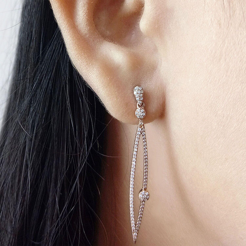 Ella Stein No Tears Earrings (Silver)