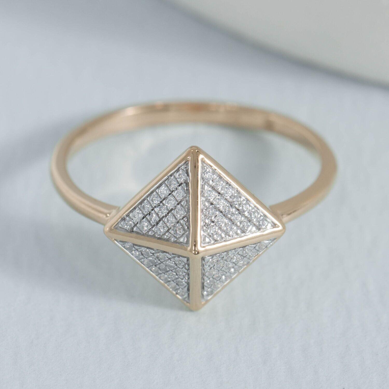 Ella Stein Pyramid Dome Ring (Gold)
