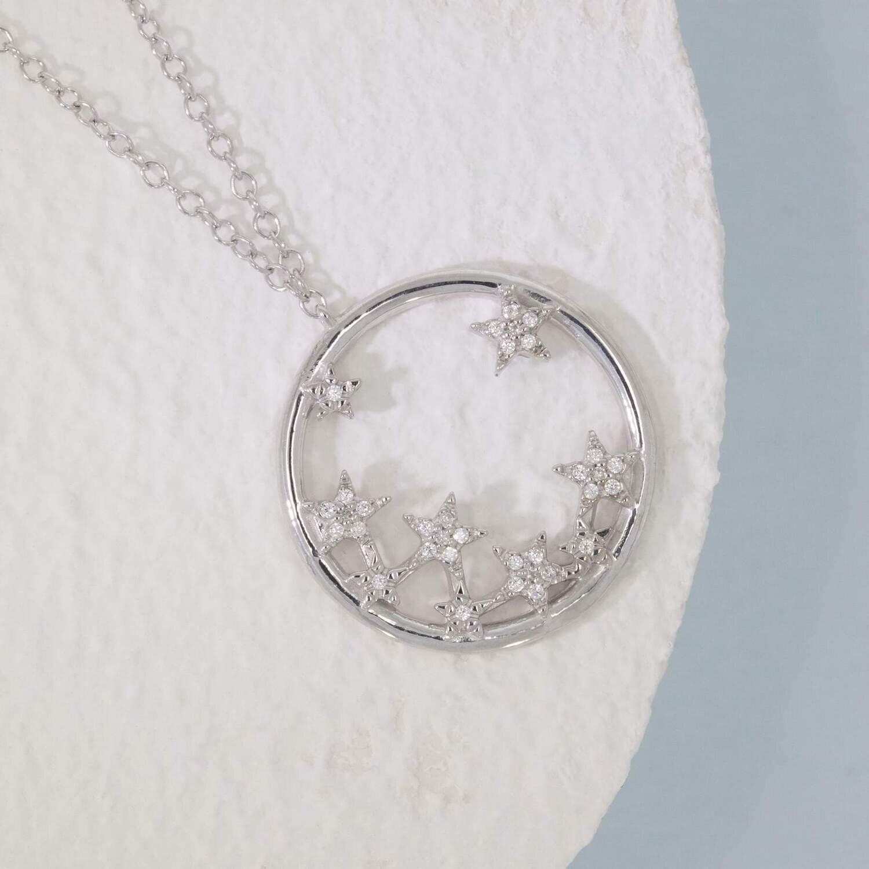 Ella Stein A Star is Born Necklace (Silver)