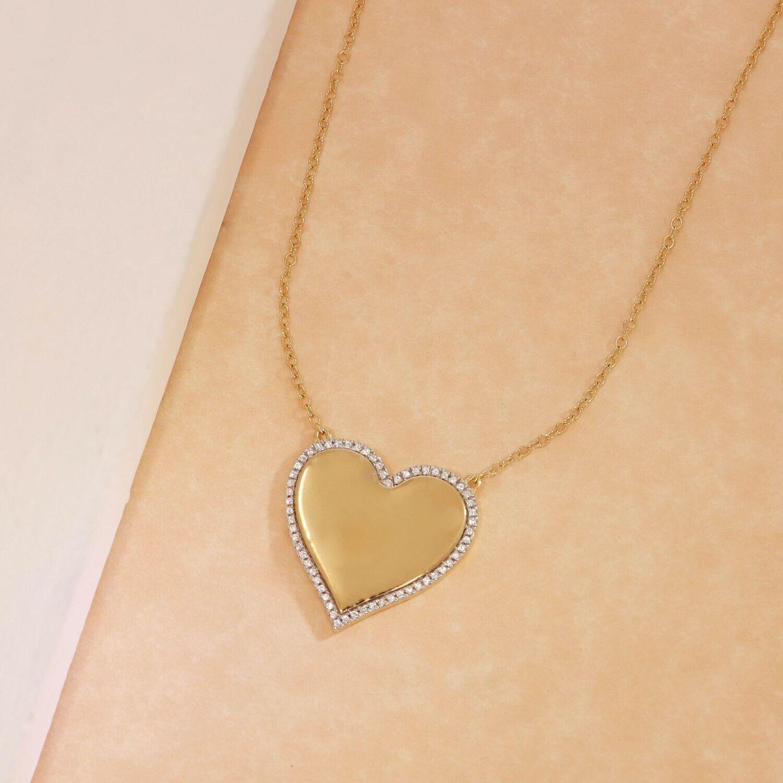 Ella Stein Forever Love Necklace (Gold)