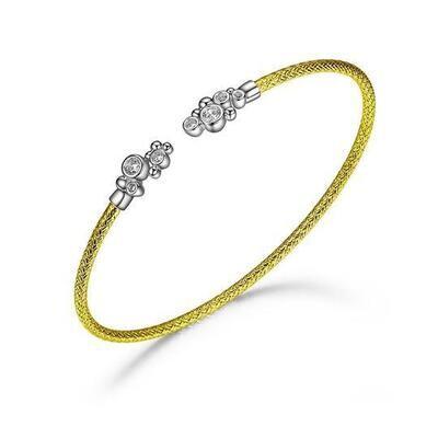 Charles Garnier Stella Cuff, Gold