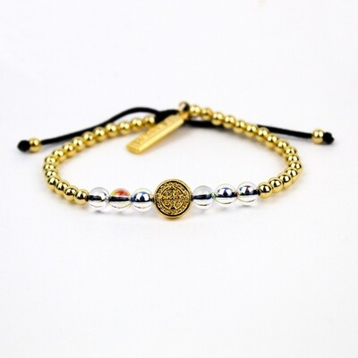 MSMH Wonder Petite Crystal Bracelet (Gold)