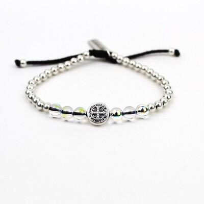 MSMH Wonder Petite Crystal Bracelet (Silver)