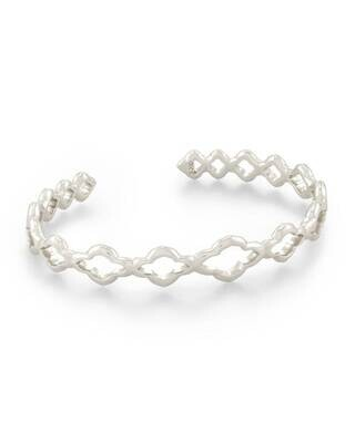 Kendra Scott Abbie Cuff Bracelet in Silver