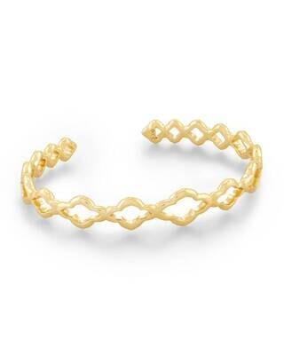 Kendra Scott Abbie Cuff Bracelet in Gold