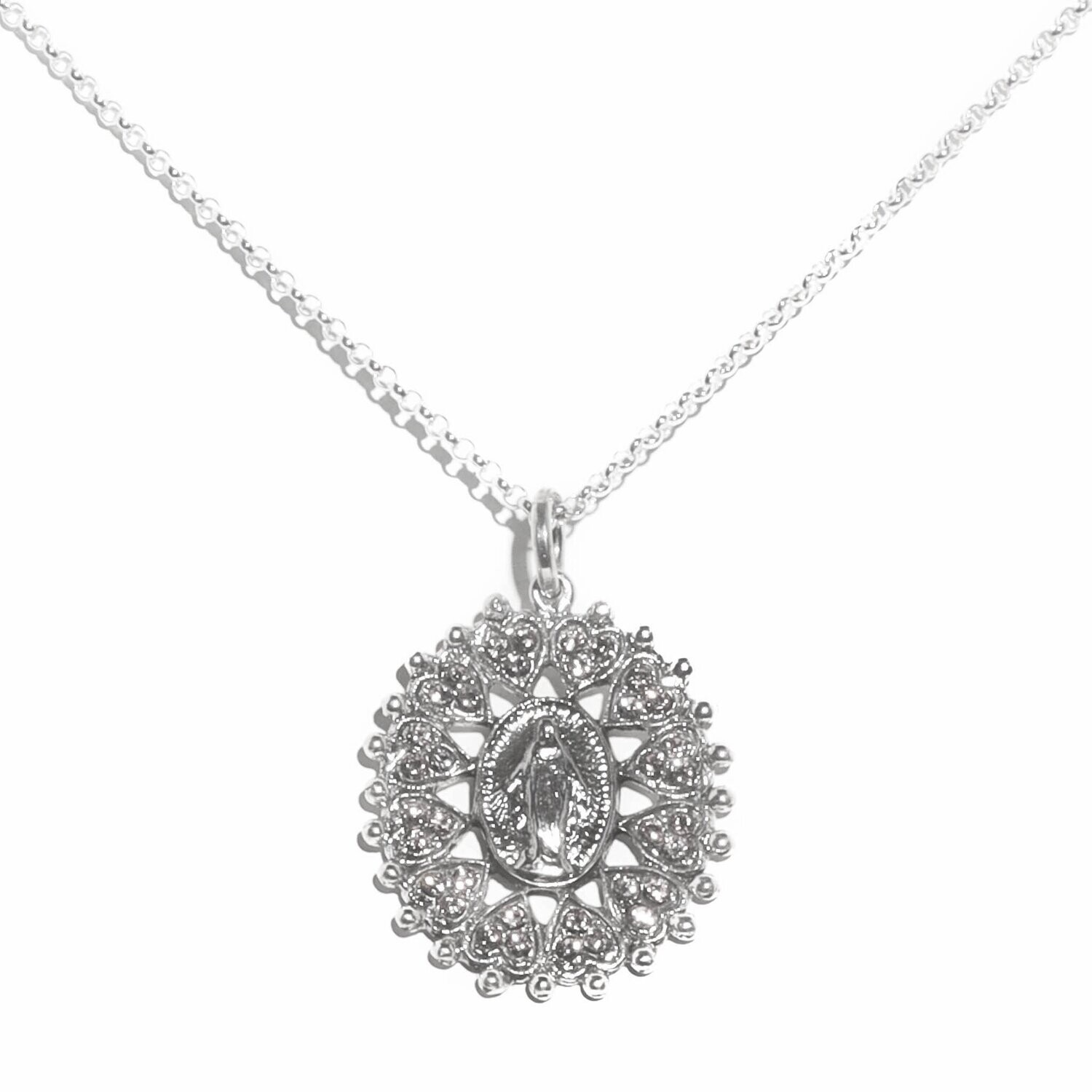 VSA Bringing Her Home Necklace (Silver)