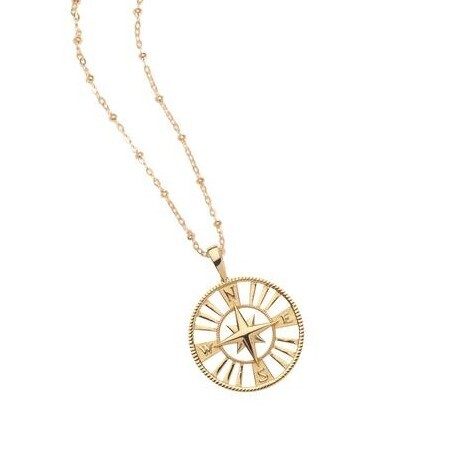 Jane Win Cutout FOREVER Coin Pendant