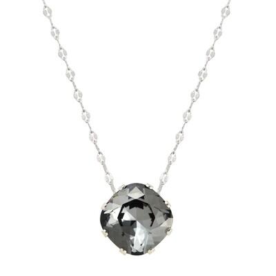 JoJo Loves You Black Sparkle Marina Necklace