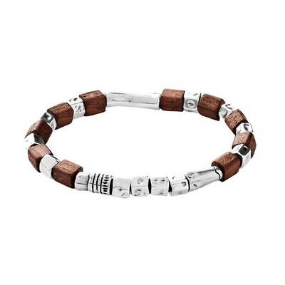 Uno de 50 Men's Wooden Bracelet