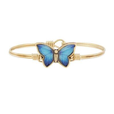 Luca + Danni Blue Morpho Butterfly Bracelet