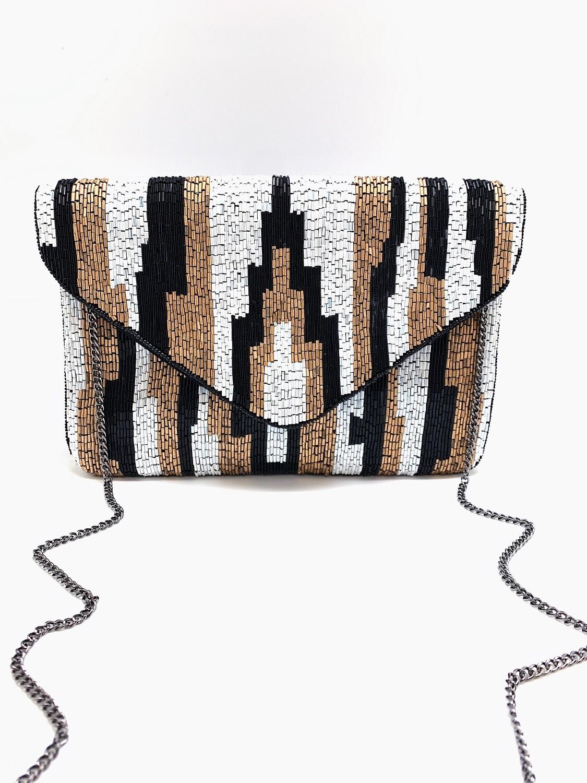 La Chic Art Deco Beaded Bag