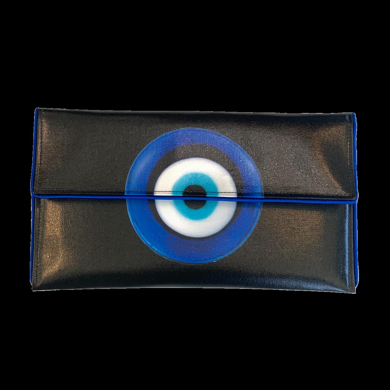 Kent Stetson Evil Eye Crossbody Clutch