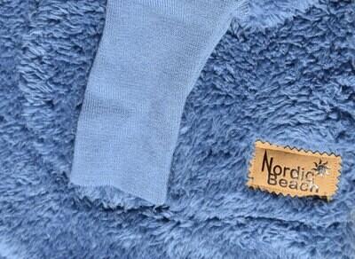 Nordic Beach Body Wrap in Blue Denim