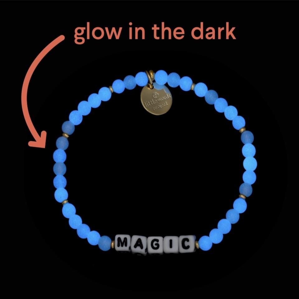 Little Words Project Glow-in-the-Dark MAGIC Bracelet