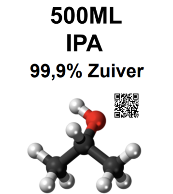 Isopropanol (IPA) 500ml 99,9% Pure