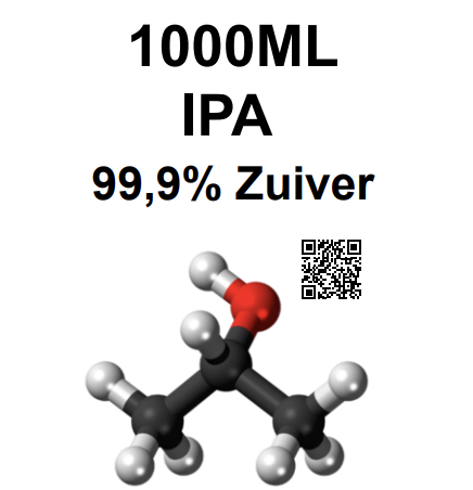 Isopropanol (IPA) 1000ml 99,9% Pure