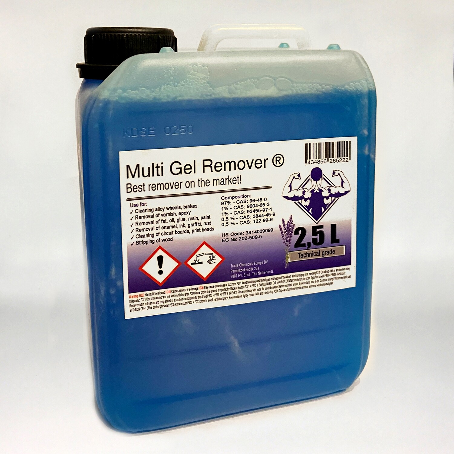 Multi Gel Remover® 2.500 ml Technical Blue Canister