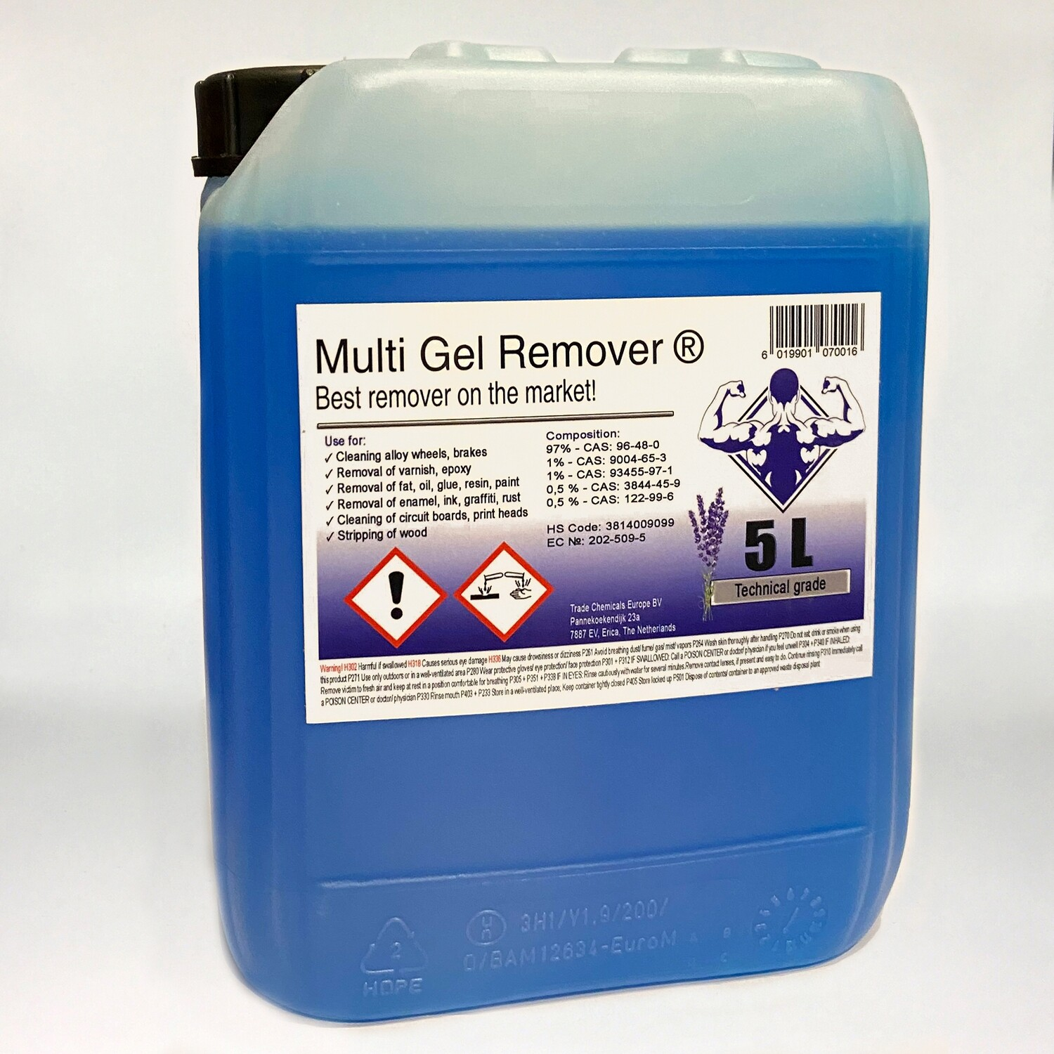 Multi Gel Remover® 5.000 ml Technical Blue Canister