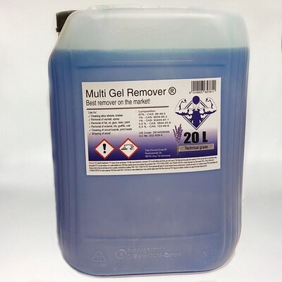 Multi Gel Remover® 20.000 ml Technical Blue Canister