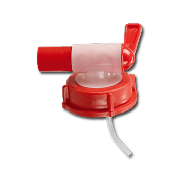 TAP DIN44(51) (JERRYCAN 5 AND 10L) RED