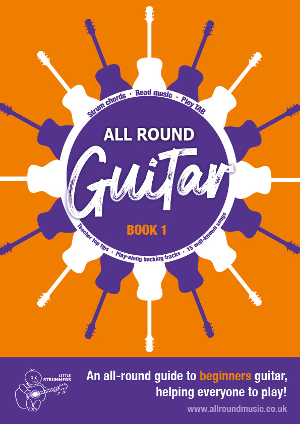 All Round Guitar for Beginners - Book 1 - Download Edition