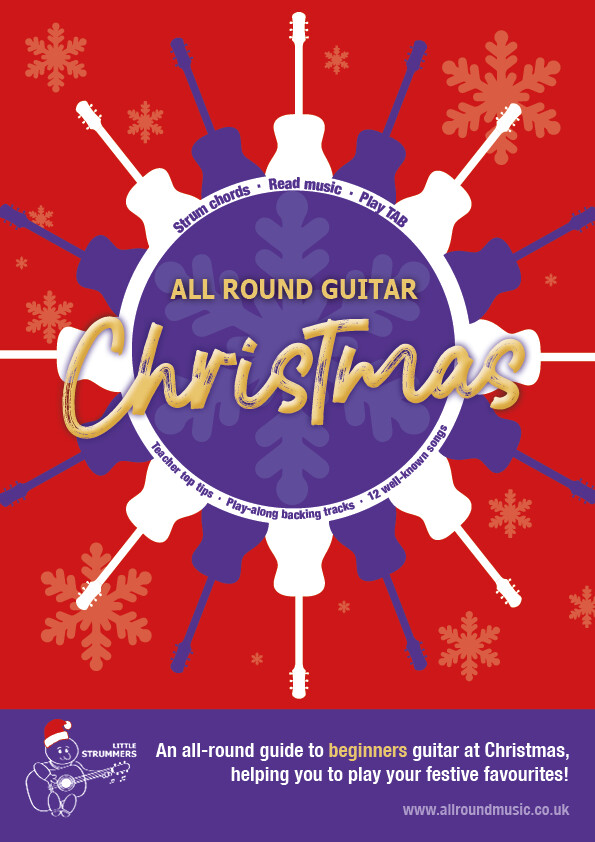 All Round Christmas - Guitar Book for Beginners