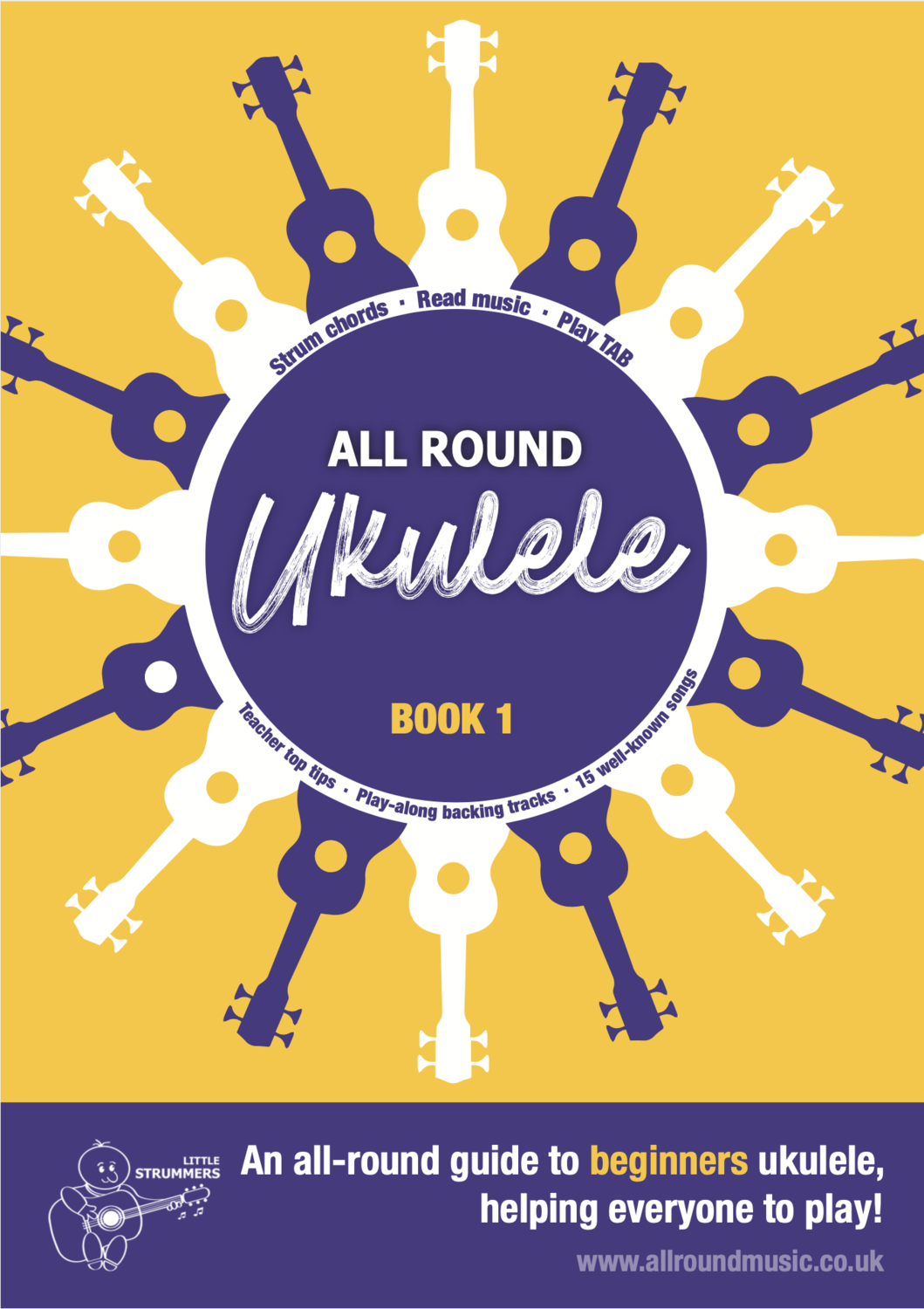 All Round Ukulele for Beginners - Book 1