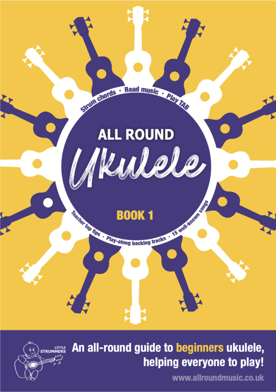 All Round Ukulele for Beginners - Book 1 - Download Edition