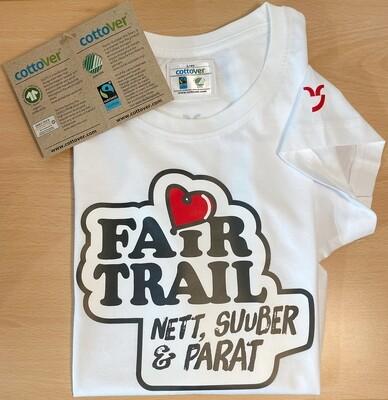 Fairtrail T-Shirt Frauen von Cottover