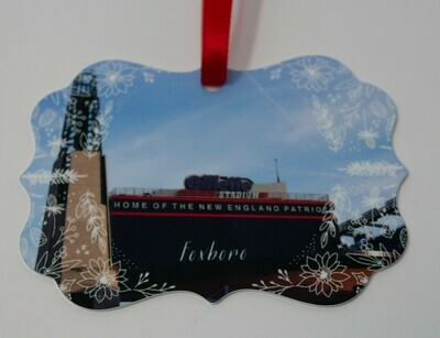 ​Foxboro Special Christmas Sale-Gillette Stadium Lighthouse Christmas Ornament- 3